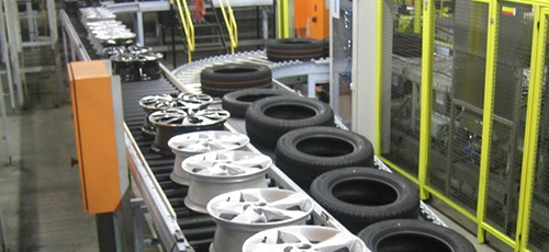 Automobile Spare Parts Conveyor belt India