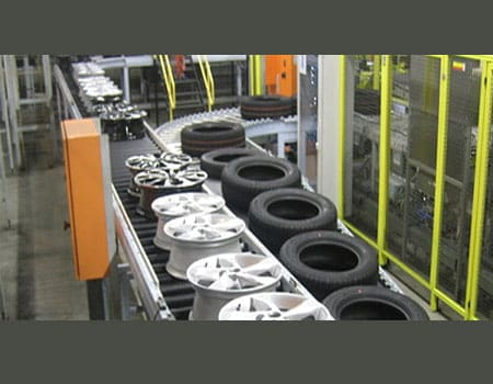 Automobile Spare Parts Conveyor Belt In Australia